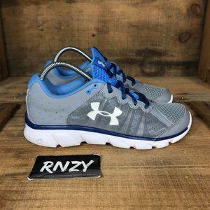 Under Armour Assert 6 Micro G Gray Running Shoes